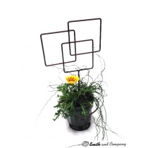 Three Square Garden Art